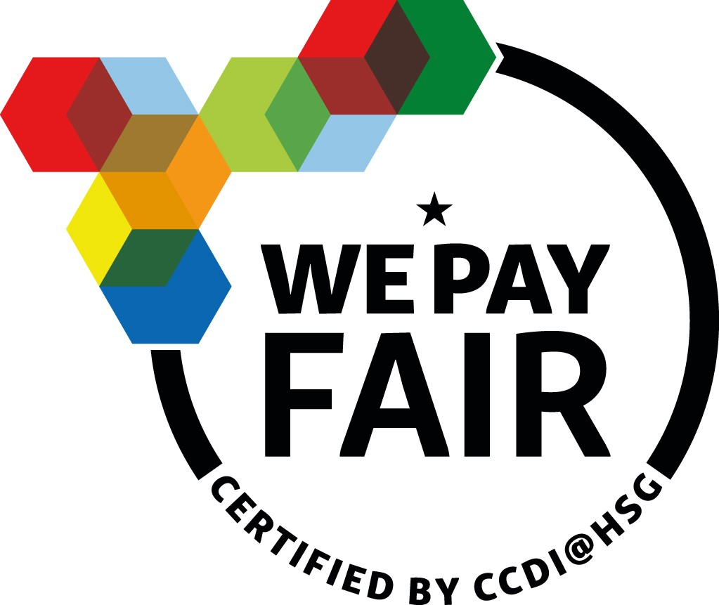 «We pay fair»-distinction
